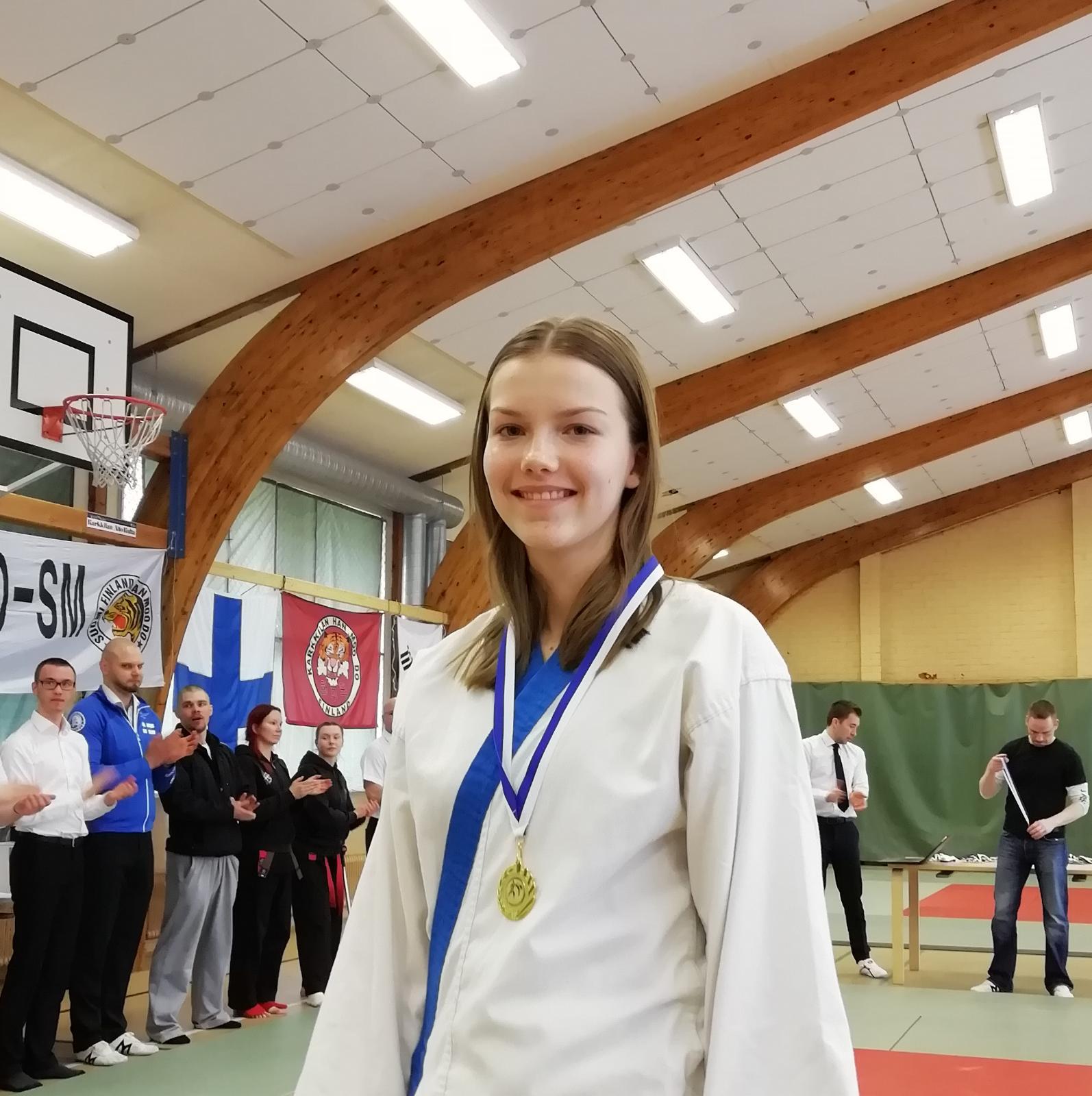 Ilona toi Ouluun SM-kultaa!!